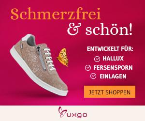 UXGO Schuhe - SCHMERZFREI & SCHÖN