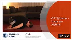 Yoga am Abend - OTT@home - Uniklinik Köln