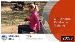 Training mit Parkbank - OTT@home - Uniklinik Köln